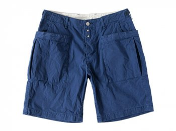 ordinary fits UTILITY SHORTS BLUE