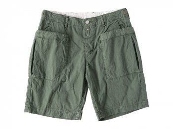 ordinary fits UTILITY SHORTS OLIVE