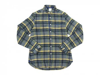 maillot sunset flannel check shirts GRAY