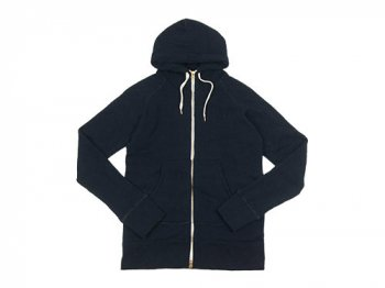 maillot sweat zip parka NAVY