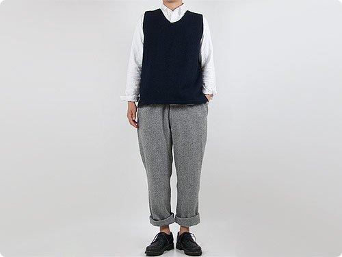 【再入荷】 maillot wool melton vest
