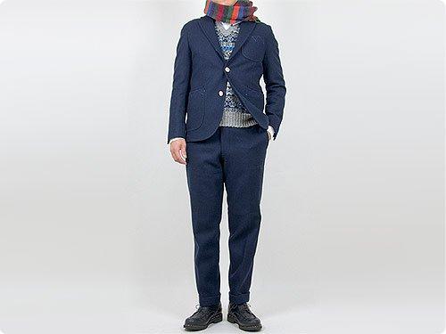 maillot Melton jacket / Melton trouser