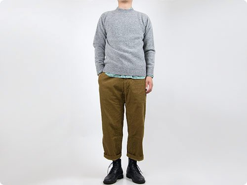 ordinary fits FRENCH CROPPED CORDUROY