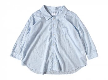 ordinary fits BARBAR SHIRT BLUE