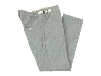 TATAMIZE WOOL SWEAT PANTS GRAY