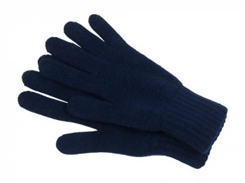 William Brunton Hand Knits Gloves NAVY