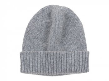 William Brunton Hand Knits Cap LIGHT GRAY