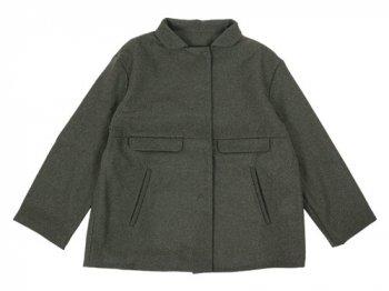 Lin francais d'antan Jacket Wool OLIVE