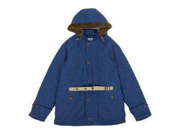 ENDS and MEANS Peaks Jacket BLUE