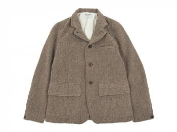 ENDS and MEANS Hunting Wool Jacket HERRINGBONE