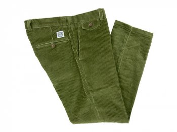 ENDS and MEANS Cord Grandpa Trousers OLIVE