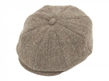 ENDS and MEANS News Boy Cap HERRINGBONE