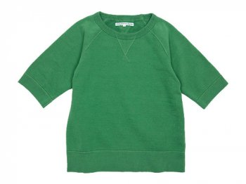 DAILY WARDROBE INDUSTRY CREW NECK S/S SWEAT GREEN