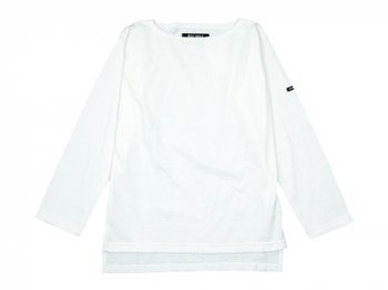 Le minor by DAILY WARDROBE INDUSTRY ボートネックカットソー MONDAY(WHITE)