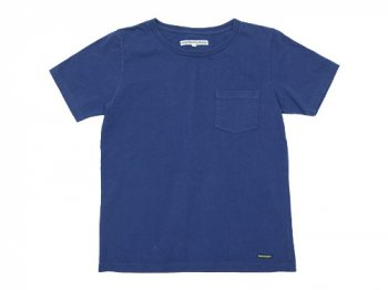 DAILY WARDROBE INDUSTRY CREW NECK POCKET T-SHIRT WEDNESDAY(BLUE)