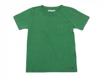 DAILY WARDROBE INDUSTRY CREW NECK POCKET T-SHIRT THURSDAY(GREEN)