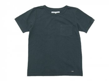DAILY WARDROBE INDUSTRY CREW NECK POCKET T-SHIRT FRIDAY(BLACK)
