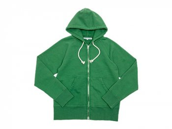 DAILY WARDROBE INDUSTRY ZIP-UP PARKA GREEN