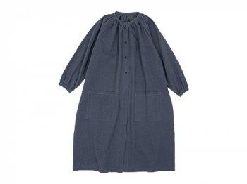 Lin francais d'antan Rousseau atelier coat GRAY