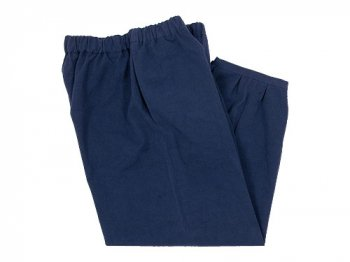 Lin francais d'antan Parrot Cotton pants NAVY