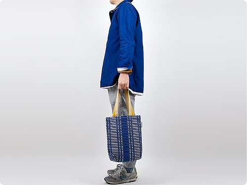 JOHANNA GULLICHSEN Champagne bag Helios BLUE
