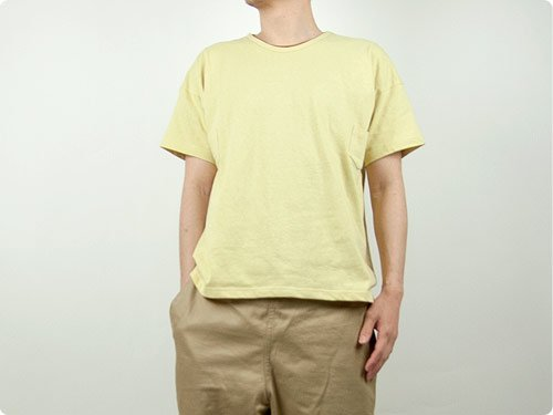 TATAMIZE Pocket Tee YELLOW