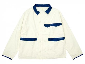 TATAMIZE COCK JACKET WHITE