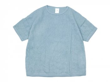 maillot linen shirts T LIGHT BLUE