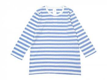 maillot ライトボーダー7分袖Tシャツ FUJI
