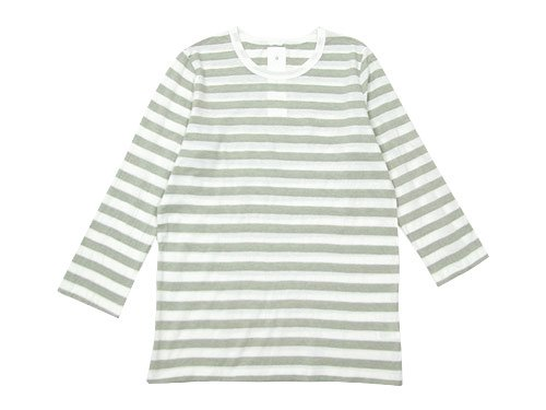 maillot ライトボーダー7分袖Tシャツ GRAGE