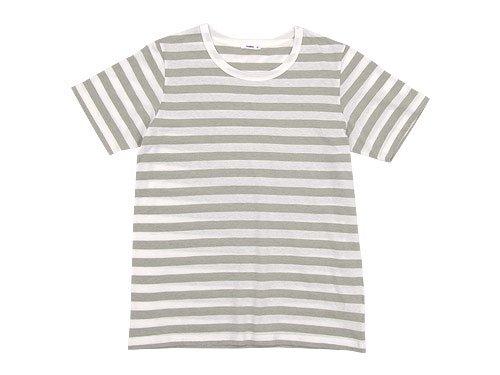 maillot ライトボーダー半袖Tシャツ GRAGE