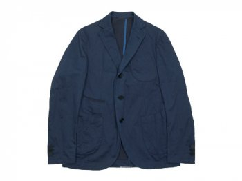 maillot b.label indigo cotton jacket