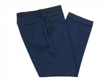 maillot b.label indigo cotton trousers