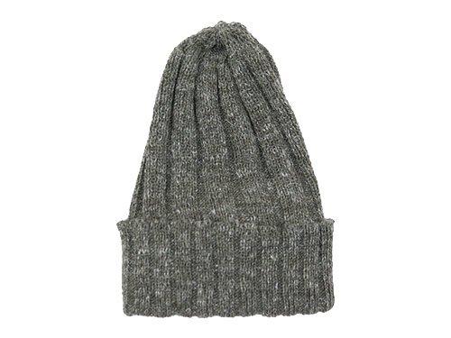 maillot wool linen knit cap