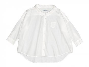 ordinary fits BARBAR SHIRT WHITE