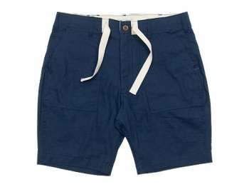ENDS and MEANS Army Chinos Shorts NAVY