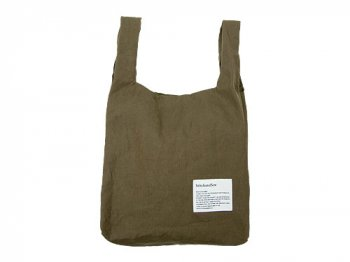 StitchandSew Linen shopping bag KHAKI