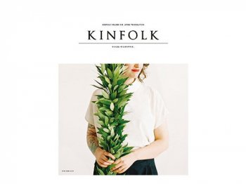 KINFOLK vol.6 JAPAN TRANSLATION
