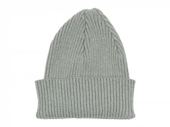 MHL. COTTON KNIT CAP 021GRAY