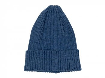 MHL. COTTON KNIT CAP 110NAVY