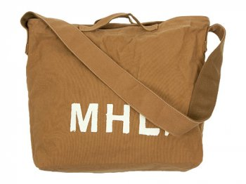 MHL. HEAVY CANVAS SHOULDER BAG  063MUSTARD
