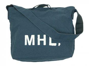 MHL. HEAVY CANVAS SHOULDER BAG  114BLUE