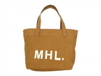 MHL. HEAVY CANVAS TOTE BAG 063MUSTARD