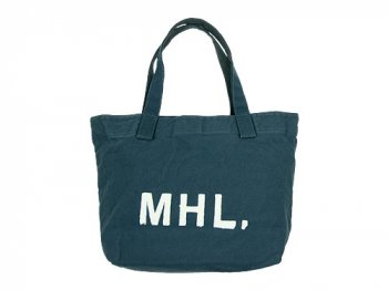 MHL. HEAVY CANVAS TOTE BAG 114BLUE
