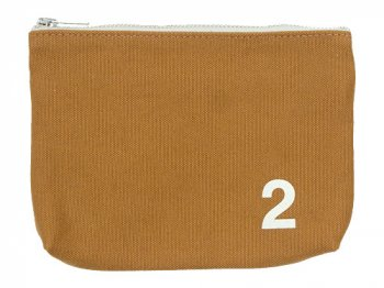MHL. HEAVY CANVAS POUCH 2 063MUSTARD
