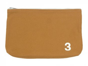 MHL. HEAVY CANVAS POUCH 3 063MUSTARD