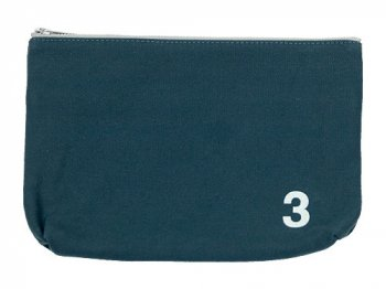 MHL. HEAVY CANVAS POUCH 3 114BLUE