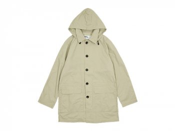 MHL. CONTRAST FACE COTTON COAT 040LIGHT BEIGE 〔メンズ〕