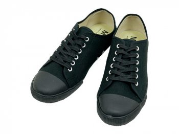 MHL. COTTON CANVAS SHOES 010BLACK