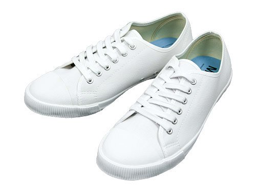 MHL. COTTON CANVAS SHOES 030WHITE